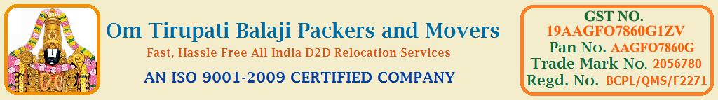 Om Tirupati Balaji Packers Movers